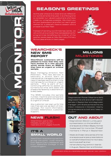 Monitor Issue 52 - WearCheck