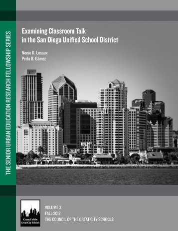 Download publication - Council of the Great City Schools