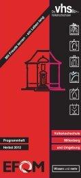 Das Programmheft als e-book - vhs Miltenberg