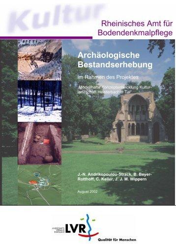 Archäologische Bestandserhebung - LVR-Amt für ...