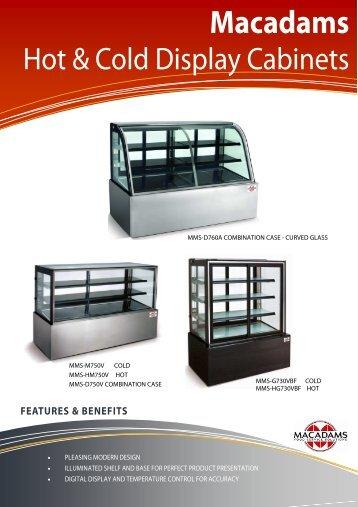 macadams hot & cold display cabinets