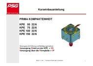 Einbauanleitung KPE-l-22/6 - PSG Plastic Service GmbH