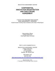 IAC Confidential Innovation Registration and Disclosure Document