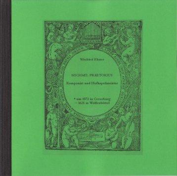 Broschüre - Michael Praetorius