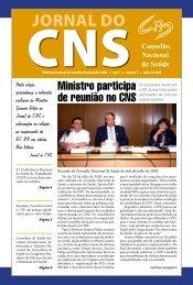 05_0718_M_jornal do CNS_n_3.indd - Conselho Nacional de Saúde