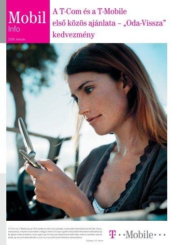 Mobil Info 2006. február - T-Mobile