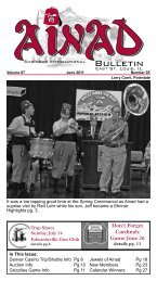 Bulletin - Ainad Shriners
