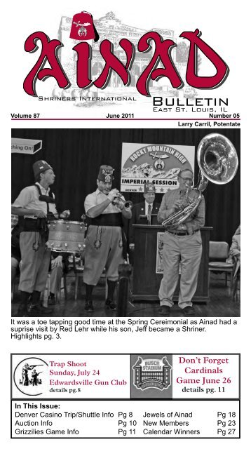 Bulletin - Ainad Shriners
