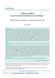 PDF (131.0 KB) - Pédagogie médicale