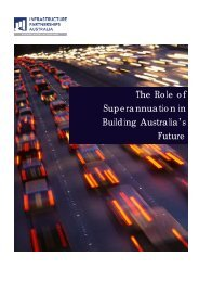The Role of Superannuation in Building Australia's Future