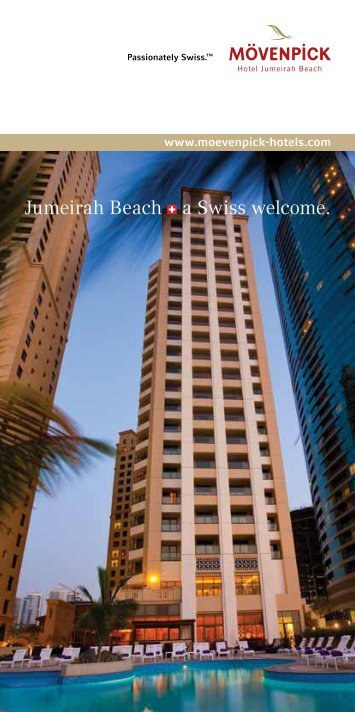 Download the hotel brochure - Mövenpick Hotels & Resorts