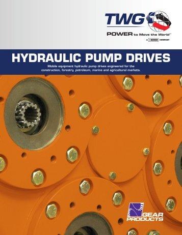Hydraulic Pump Drives Catalog (English/Metric) - TWG