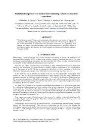 Peripheral responses to a mental-stress inducing virtual - ICDVRAT