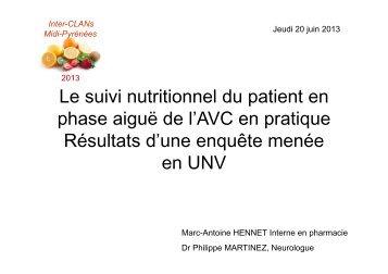 Alimentation en UNV - Centre hospitalier de Montauban