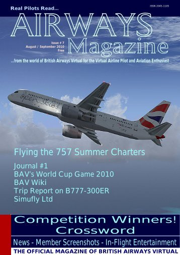 Airways Aug/Sept 2010 - British Airways Virtual