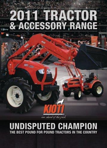 2011 tractor - Kioti Tractors