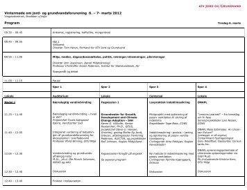 Vintermøde om jord- og grundvandsforurening 6. – 7- marts 2012 ...