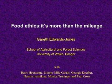 Professor Gareth Edwards-Jones