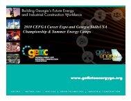 ENERGE Summer Camps - CEWD