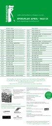 Spielplan april – Mai 13 - Sparkasse Regensburg