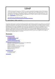Tutorial LDAP - JRES 1999