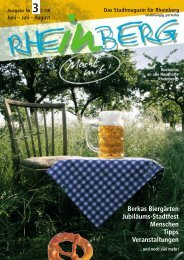 Stadtmagazin Rheinberg • Ausgabe Nr.3