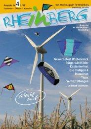 Stadtmagazin Rheinberg • Ausgabe Nr.4