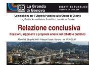 Commissione per il dibattito pubblico sulla Gronda di ... - Urban Center