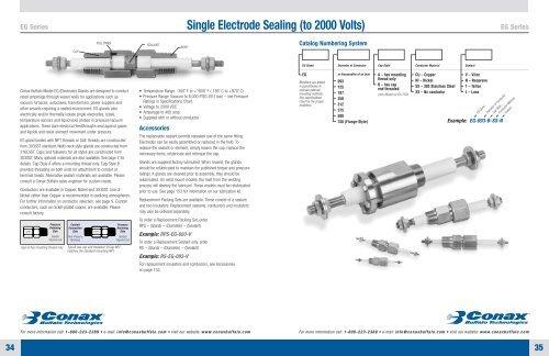 EG Series - Conax Technologies