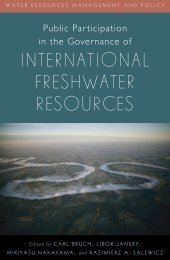 Public participation in the governance of international freshwater ...