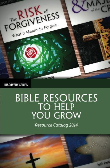 Discovery Series Resource Catalog - RBC Ministries