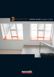 WINDOW BOARD Compact S 18/4