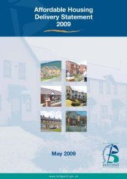 Affordable Housing Delivery Statement 2009 - Bridgend County ...
