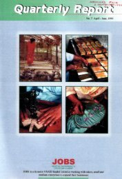 JOBS Quarterly Report (April 1999-June1999)
