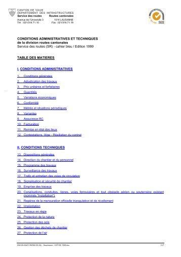 (SR) - cahier bleu / Edition 1999 T - Telechargement.vd.ch - Canton ...
