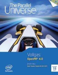 Intel Parallel Universe Magazin 16 - SOS Software Service