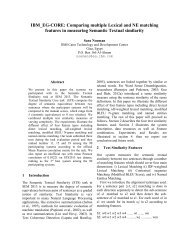 IBM_EG-CORE: Comparing multiple Lexical and NE ... - clic-cimec