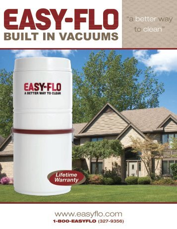 BUILT IN VACUUMS - Easy-flo Central Vacuum Systems