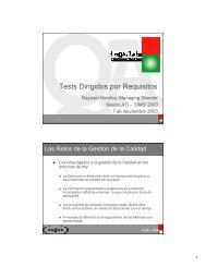 Tests Dirigidos por Requisitos - ATI