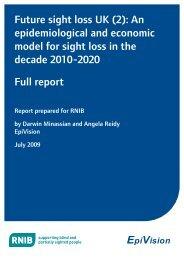 Full Report (PDF 376 KB) - RNIB