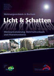 Wohnungsverkäufe in Bochum - Mieterverein