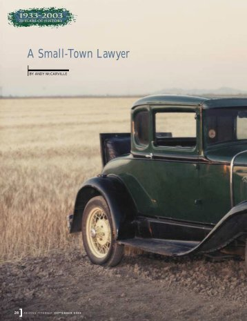 A Small-Town Lawyer - Lawyers