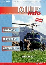 und Weiterbildung - Österreichs Bundesheer