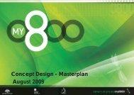 MY0800 Masterplan - Darwin City Council