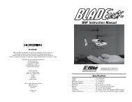 BNF Instruction Manual – Blade - hapo - trade Modellbau