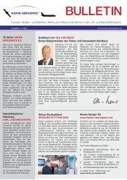 BULLETIN - Hanse Aerospace e.V.