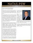 NATAS Pacific Southwest Chapter January 2010 Newsletter - Page 3