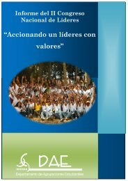 """""""Accionando un líderes con valores"""" - Universidad Rafael Landívar"""