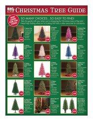 Christmas Tree Guide - Big Lots