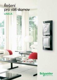 Vypínače a zásuvky Unica - panorama - Schneider Electric CZ, s.r.o.